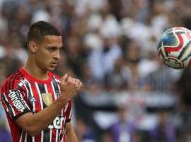 Antony é criticado após foto na Seleção em dia de jogo do São Paulo. Goal