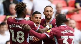 Aston Villa promu en Premier League. Goal