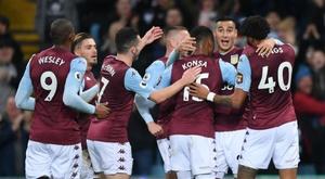 Aston Villa won 2-0. GOAL