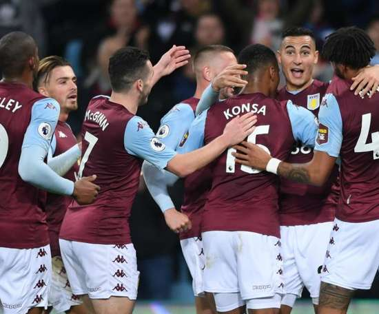 Aston Villa won 2-0. GOAL