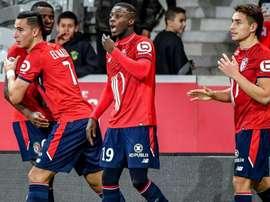 Lille a pris le dessus sur Strasbourg ce dimanche. Goal