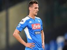 Arek Milik Napoli Serie A