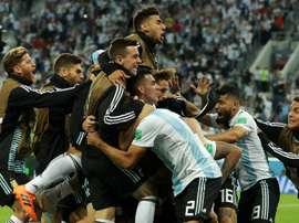 A Argentina está nos oitavos. Goal