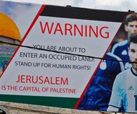 Israel vai denunciar a Palestina, após cancelamento do amistoso contra a Argentina