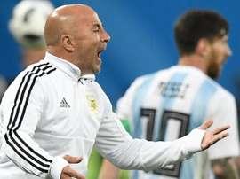 Sampaoli exalta Argentina