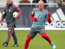 Robben de retour. Goal