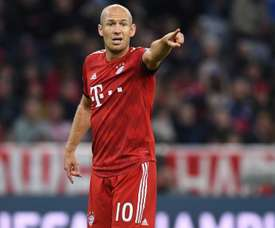 Robben sur le retour. Goal