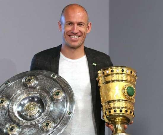 Arjen Robben had a spectacular time at the Bavarian giants. GOAL