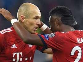 Robben non nega. Goal