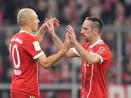 Arjen Robben and Franck Ribery have been legends for Bayern. GOAL