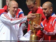 Robben place Guardiola au-dessus de Mourinho. Goal