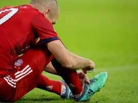 Robben falou sobre a lesão e admitiu não saber o que é. Goal