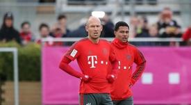 Robben dismisses Bayern title talk