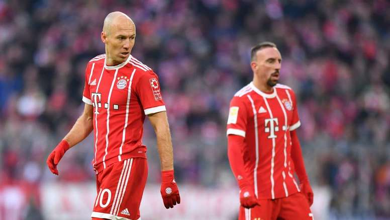 Robben and Ribery are both out of contract. GOAL