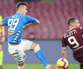 Napoli-Torino 0-0: Muro granata al San Paolo, frenata azzurra