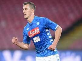 Le formazioni ufficiali di Napoli-Torino. Goal