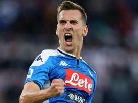 La Juventus entre dans la danse pour Milik. GOAL
