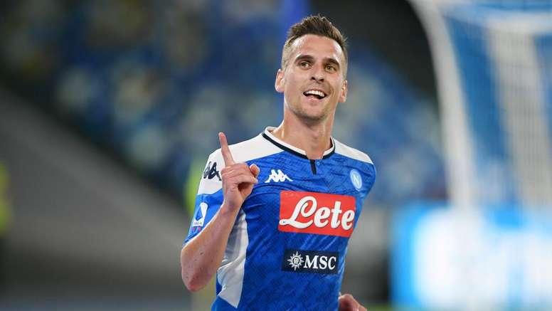 Napoli, Milik vede il rientro: lavoro in parte col gruppo. Goal
