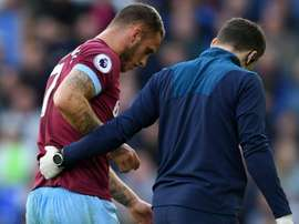 Arnautovic suffered a knee injury in the win. GOAL