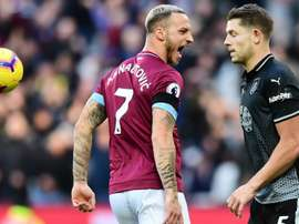 Arnautovic was a key man for the 'Irons' against Burnley. GOAL