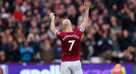 Arnautovic will remain in East London. GOAL