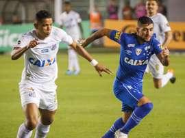Cruzeiro vence Santos fora de casa. Goal