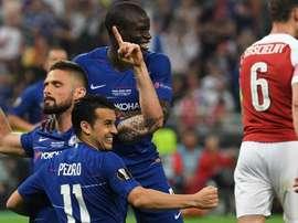 Giroud et Chelsea survolent la finale de la Ligue Europa. Goal