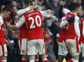 Arsenal Premier League 22012017