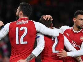 O Arsenal terminou esta fase e grupos com uma goleada de 6-0 sobre o BATE Borisov. Goal