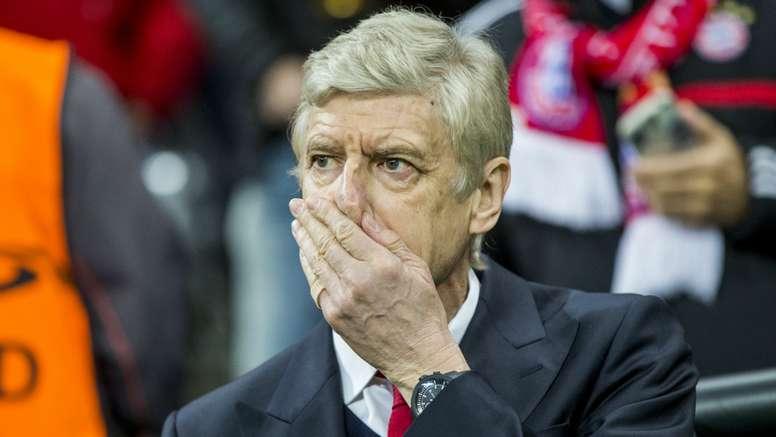 Arsene Wenger, Bayern Munich - Arsenal. GOAL