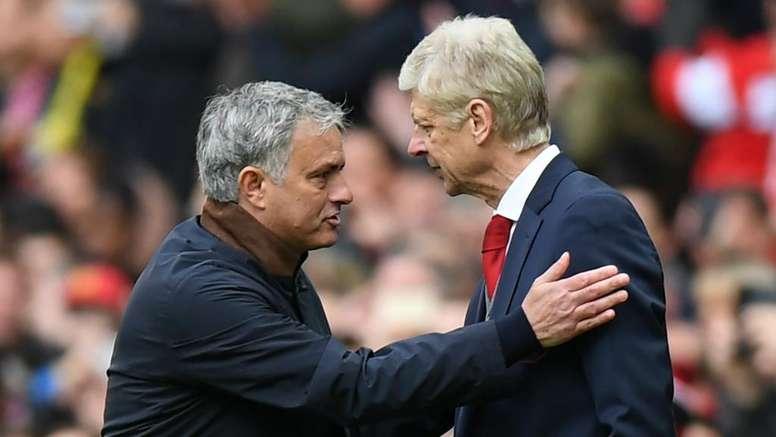 La raillerie de Mourinho sur Wenger. goal