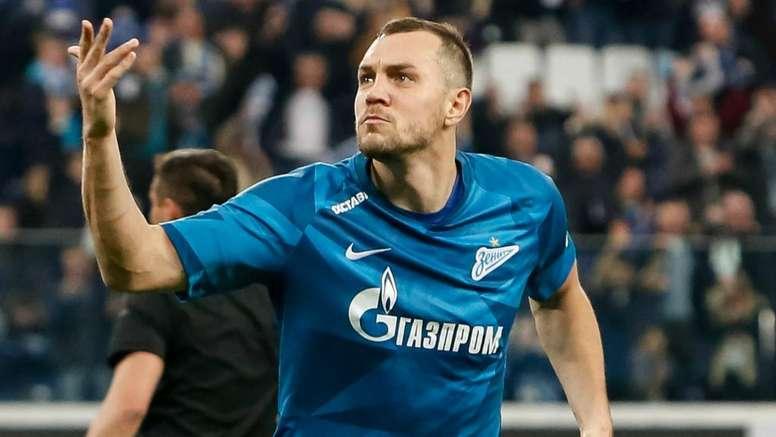 L'attaccante dello Zenit,poteva finire al Tottenham. Goal