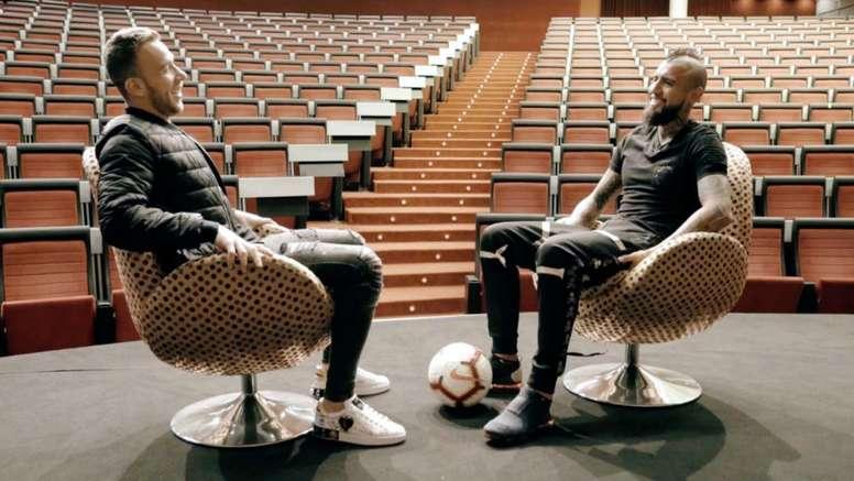 Vidal revela choro por não estar Copa e sonha com jogar no Brasil. Goal