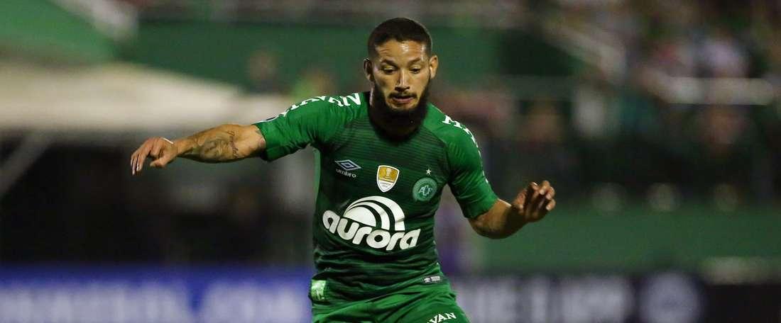 'Chape' surpreendida pelo Atlético-GO. Goal