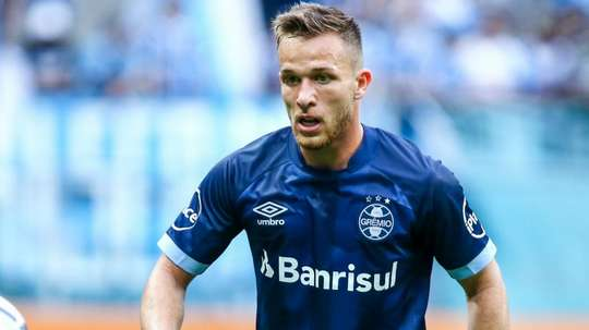 Gremio have been firm about Arthur's development. GOAL