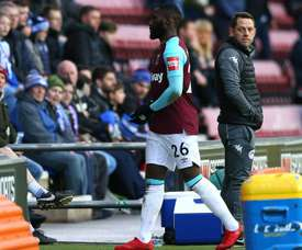 Masuaku will miss six Premier League games over the spitting incident. GOAL