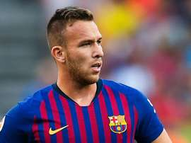 Arthur is in line to make his international debut. AFP