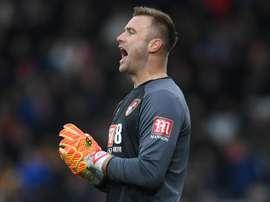 Artur Boruc will spend one more season at Bournemouth. GOAL