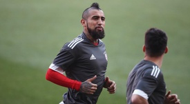 Vidal has returned to training. GOAL
