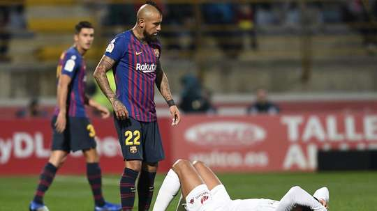 Vidal is desperate to make the most of his chances to push for a regular starting spot. GOAL