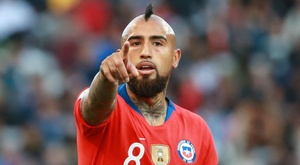 Vidal scored in Alicante, but the Chile performance was far from convincing. GOAL