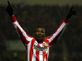 Asamoah Gyan va jouer en Turquie la saison prochaine. Goal