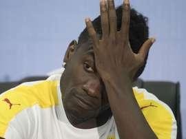 Ghana star Asamoah Gyan. Goal