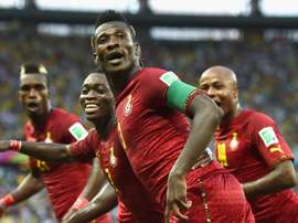 Asamoah Gyan will be hoping for more goals for Ghana. GOAL