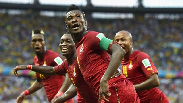 Asamoah Gyan will be hoping for more goals for Ghana. GOAL