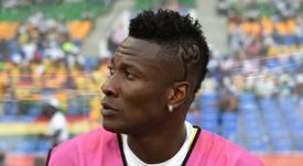 Asamoah Gyan. Goal