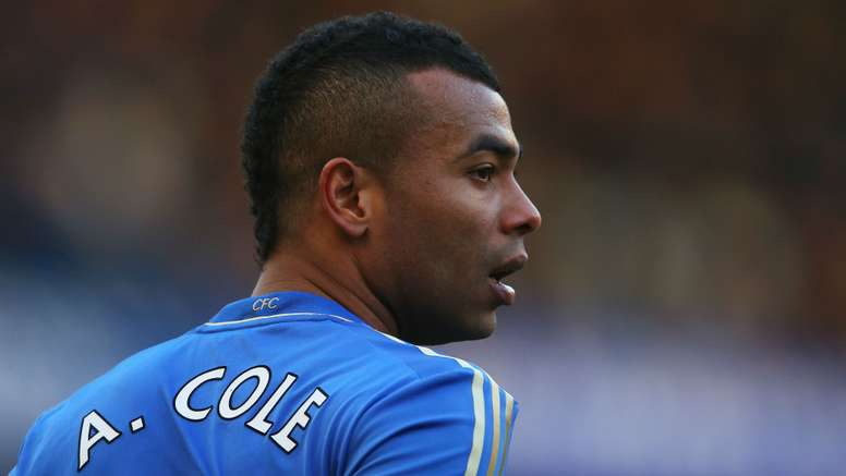 Ashley Cole during his Chelsea days. Goal