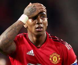 Young has captained United recently in Antonio Valencia's absence. GOAL