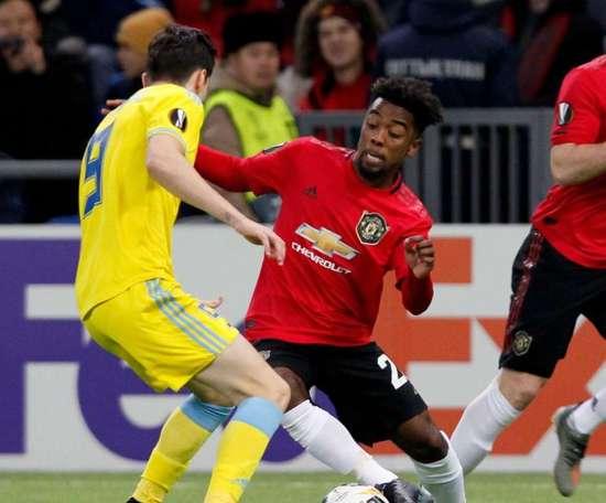 United, battu à Astana. Goal