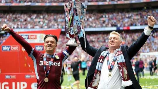 Milosevic revels in Aston Villa's Premier League return. GOAL